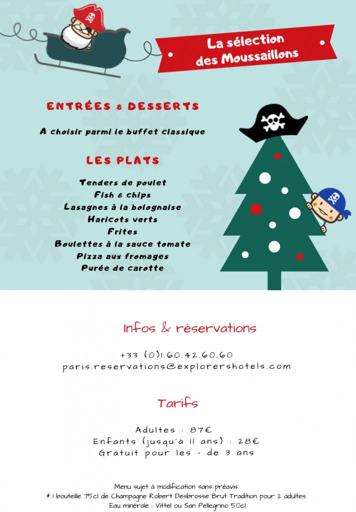 Menu Simple Repas De Noel.Noel A Disneyland Paris Vivez La Magie De Noel A L Hotel