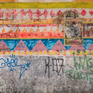 Fotografie La Paz Ansicht einer Wand