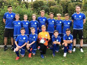 Team Bild der D-Jugend (10-11 Jahre) des SV Pesterwitz