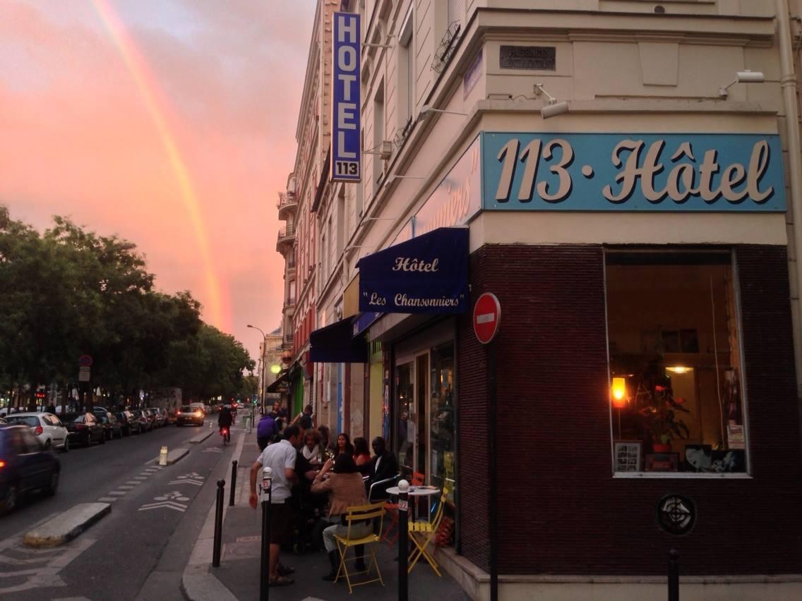 cp Paris hôtel les chansonniers bd de Ménilmontant