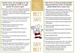 10 Regole Anti-Covid Meet Safe - Safe Meet
