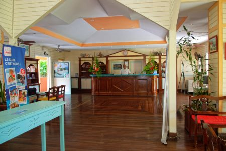 Le hall du Carayou Hotel & Spa - Martinique - Pointe du Bout