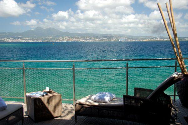 Carayou Hôtel & SPA martinique - Terrasse Vue sur la mer