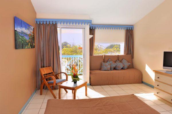Chambre avec vue Jardin - Hôtel Le Carayou
