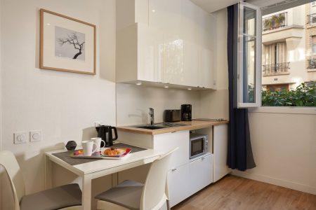 Cuisine-appartement - Résidences Paris Asnières