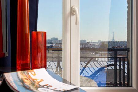 Vue Tour-Eiffel - Résidences Paris Asnières