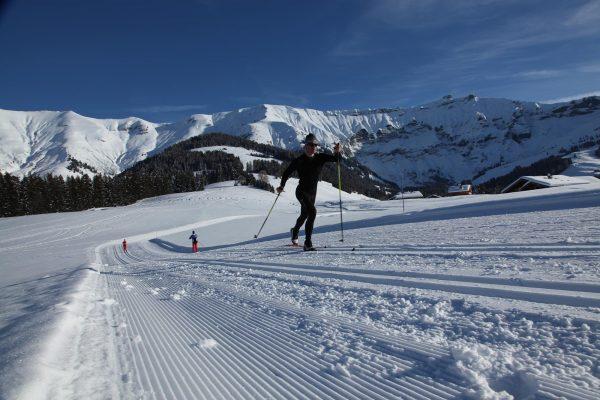 Le ski de fond à Megève photo Mairie Megève Simon Garnier