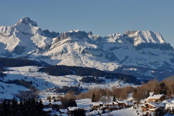 Le village de Megève au Pays du Mont-Blanc