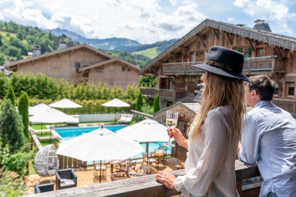 Bien-être et détente au balcon des Loges Blanches
