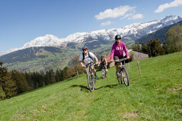 Balades en VTT au Pays du Mont Blanc