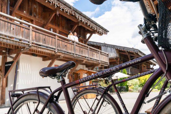 Service de prêt de vélos aux Loges Blanches
