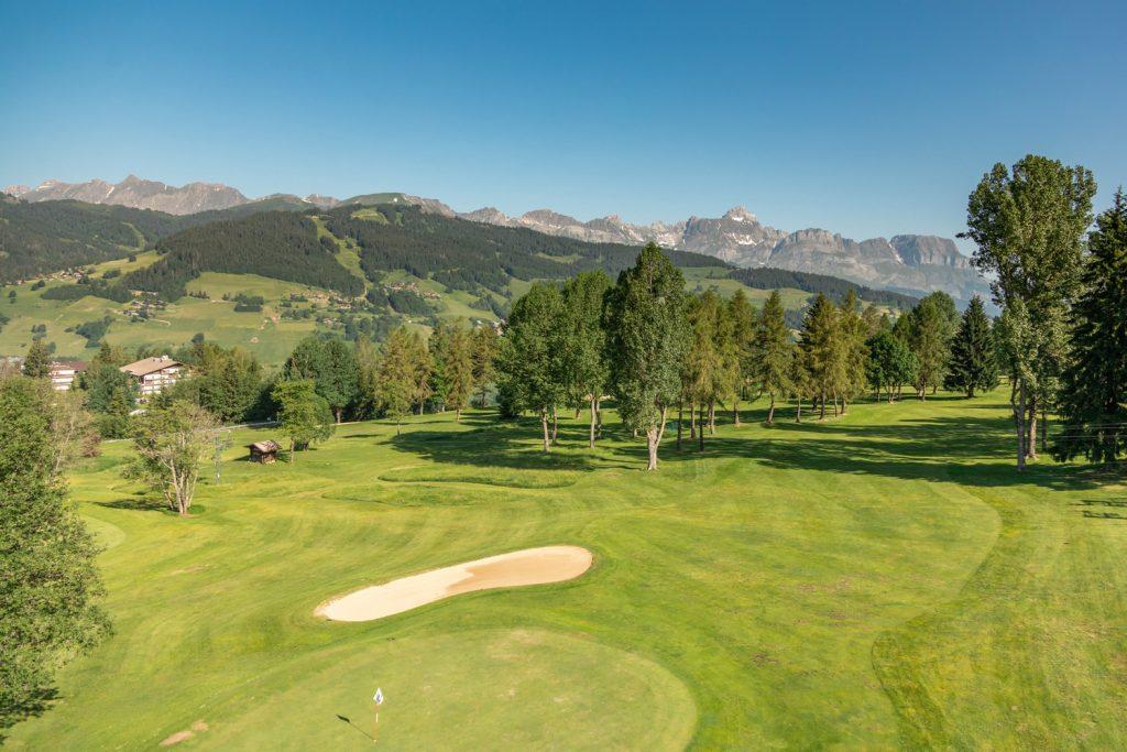 Le golf du Mont d'Arbois