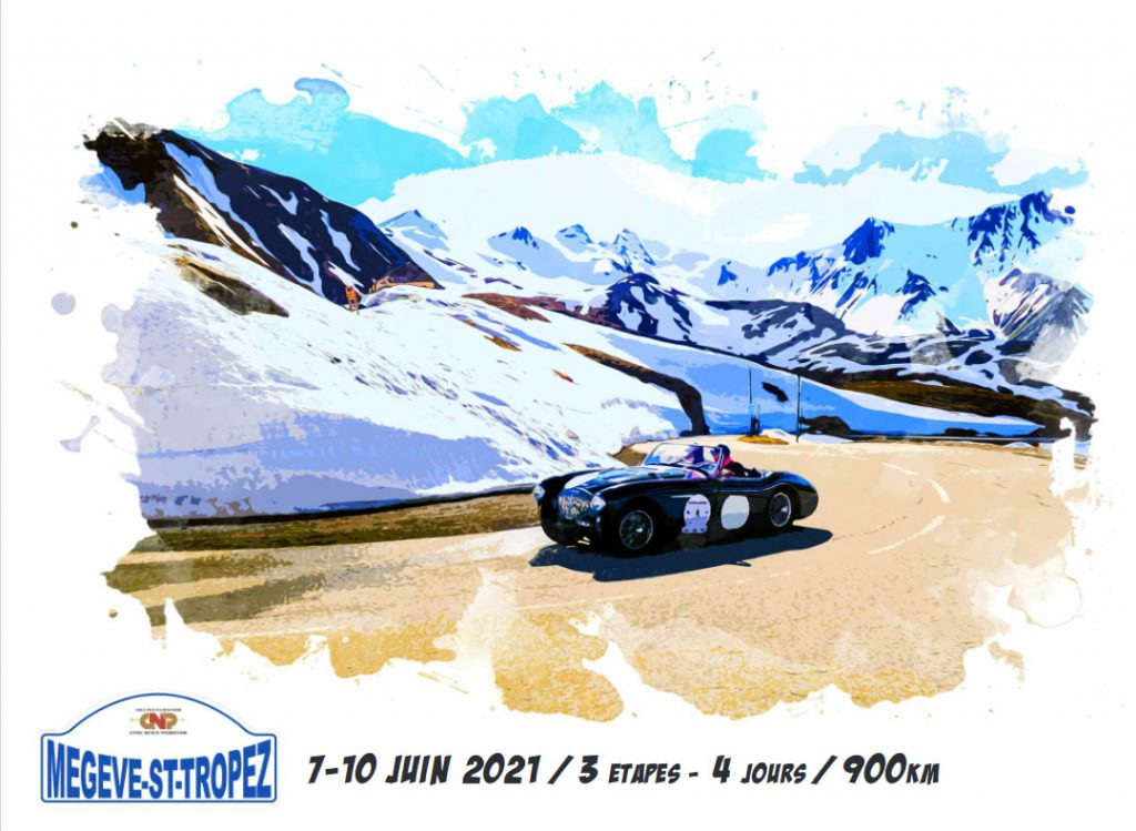 7e Rallye Megève-StTropez édition 2021