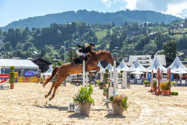 Jumping international de Megève