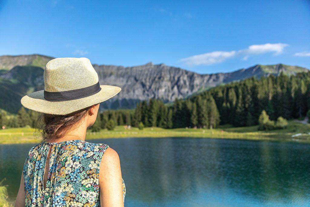 Randos Megève Le Lac Javen