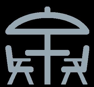 terrasse icone