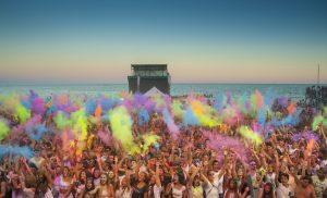 holi festival dei colori jesolo