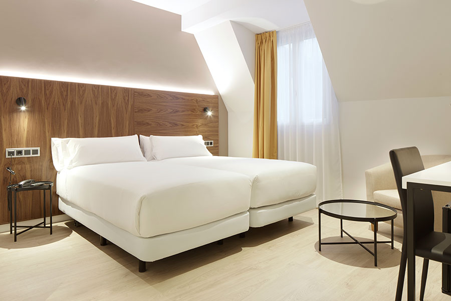 Chambre double avec 2 lits ou 1 grande lit
