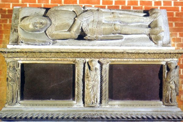 The funeral monuments of the Basilica dei Santi Giovanni e Paolo