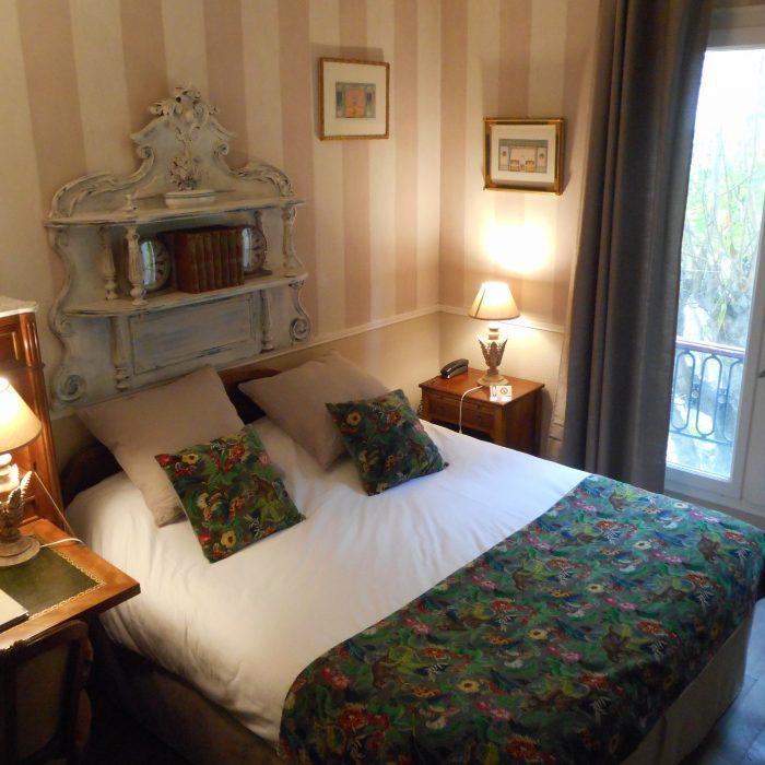Chambre double sur jardin