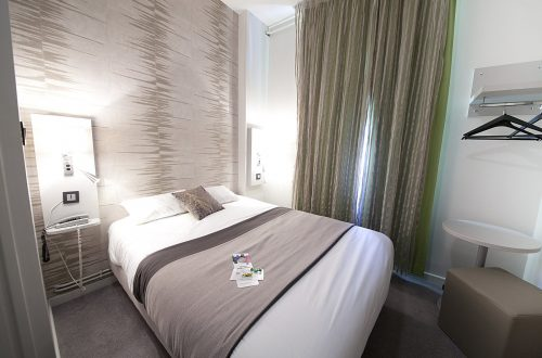 Chambre single ou double moderne hotel albert elisabeth gare Sncf clermont-Ferrand (2)