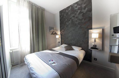 chambre single ou double moderne hotel albert elisabeth gare sncf clermont-ferrand