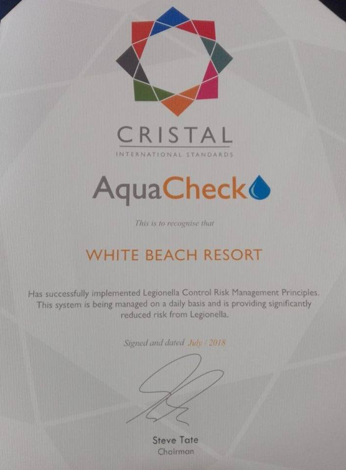 White Beach Resort Is Celebrating Cristal International Awards 2018